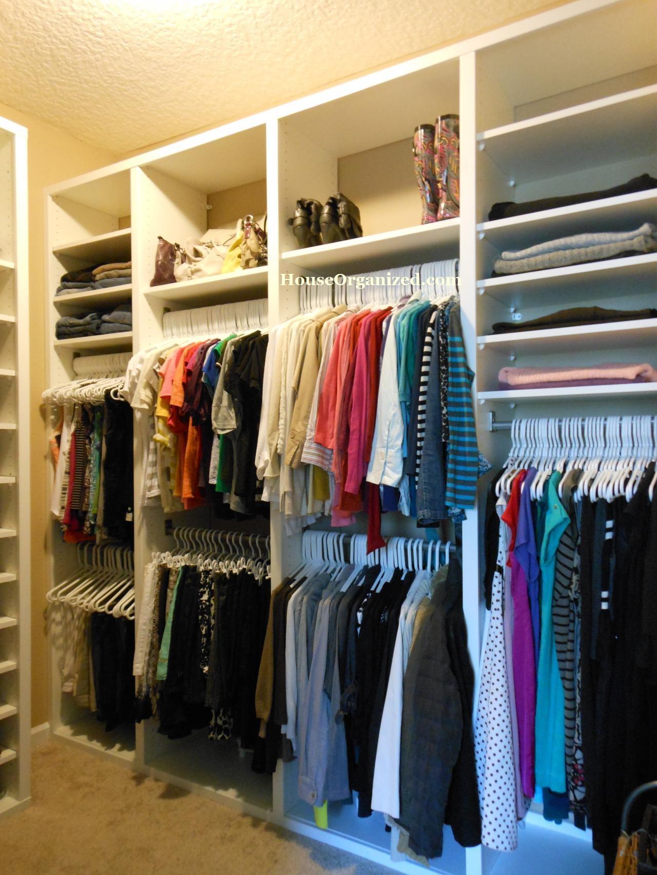 His and hers walk in closet home design for His and hers walk in closet